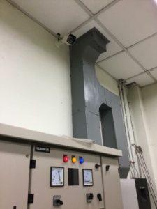ผลงานติดตั้งระบบรักษาความปลอดภัยที่โรงไฟฟ้า